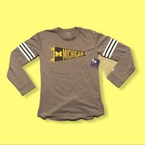 Champion x Michigan Long Sleeve T Shirt